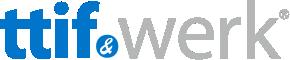 Logo ttif&werk transparant